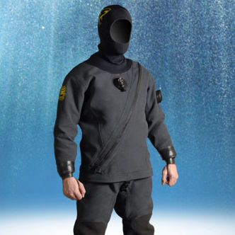 Muta da immersione / professionale / muta stagna / due pezzi TRILAM KEVLAR® PRO  SF Tech SARL