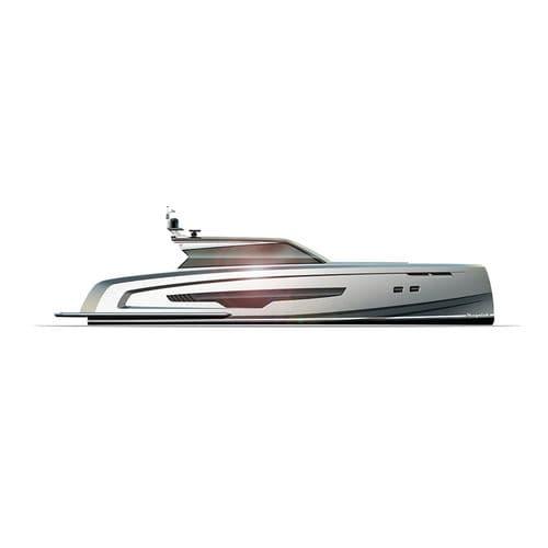 motor-yacht sportivo / open / in alluminio / dislocante