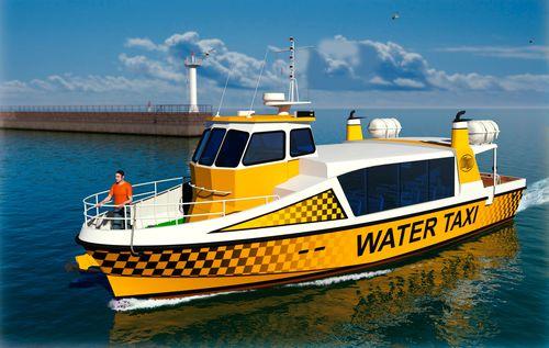 barca per trasporto passeggeri entrobordo