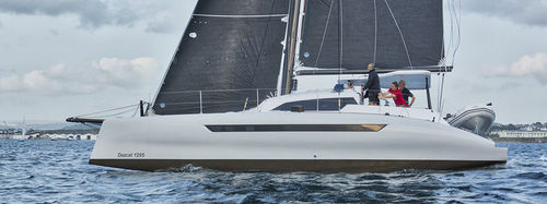 Catamarano / da crociera / da regata / con poppa aperta D1295 Dazcat Catamarans