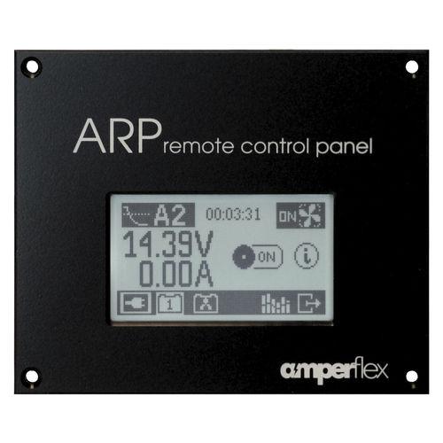 Pannello di comando e controllo per barca / per convertitore DC/CA / touch screen ARP amperflex