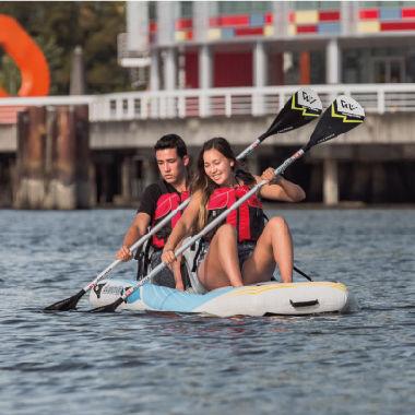 kayak sit-on-top / gonfiabile / paddle-board / a due posti