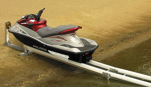 ascensore per jet-ski (sistema a rotaia smontabile) SLIDE-N-GO Hewitt Boats Lifts and Docks