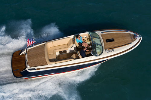 barca a motore : runabout entrobordo (con cabina) CORSAIR 25 Chris Craft