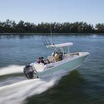 barca open fuoribordo / da pesca sportiva / con T-top