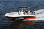 barca open fuoribordo / con console centrale / max. 8 persone / con T-top
