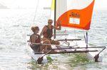 Catamarano sportivo da turismo / per scuola / multiplo / con trapezio singolo T1  Hobie Cat USA