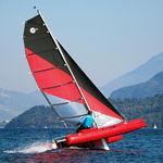catamarano sportivo gonfiabile / doppio / singolo / multiplo