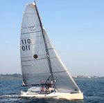 fiocco / per barca a vela monotipo