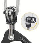 bozzello apribile / singolo / con attacco tessile / cima max. 14 mm