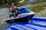pontile galleggiante / per ormeggio a secco di jet-ski / per marina