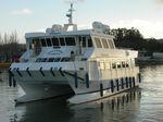 barca per trasporto passeggeri catamarano / entrobordo