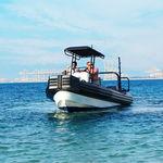 barca da lavoro fuoribordo / gommone