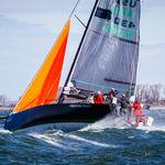 fiocco da tempesta / per barca a vela da crociera / in poliestere