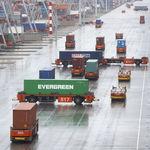 veicolo a guida automatica a guida automatica / per container