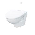 WC per nave cargo / con aspirazione per il vuoto / a muro
