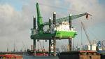 nave di supporto offshore per parco eolico