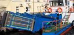 nave antinquinamento / catamarano / entrobordo