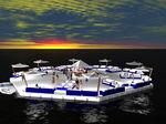 piattaforma per barca / per marina / galleggiante / modulare