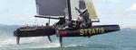 Barca a vela catamarano / one-design / in carbonio / con foil SL 33 SL Performance