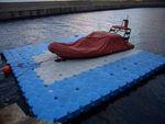pontile galleggiante / modulare / di ormeggio / per base turistica sportiva