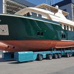 rimorchio per movimentazione / per barca / controllato a distanza