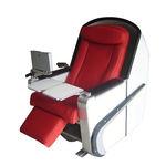sedile per nave passeggeri / per imbarcazione da trasporto passeggeri / con braccioli / regolabile