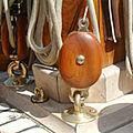bozzello singolo / apribili / con moschettone girevole / per barche a vela - 92910