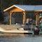 pontoon boat fuoribordo / da wakeboard / max. 16 persone