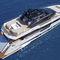 super-yacht da crociera / con fly / GRP / dislocante