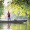 Jon boat fuoribordo / da pesca sportiva / in alluminio / max. 3 persone Topper 1542 Fisher
