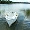 barca da canottaggio tradizionale / skiff