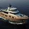 super-yacht per spedizione / explorer / con fly / in acciaio