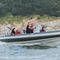 patrol boat / barca da lavoro / fuoribordo / in alluminio