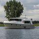 motor-yacht da crociera / trawler / raised pilothouse
