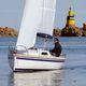 monoscafo / day-sailer / con poppa aperta / con bompresso