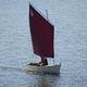 lancia vela-remi tradizionale / con poppa aperta / aurica / trasportabile