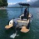 barca da pesca e diporto fuoribordo / in alluminio