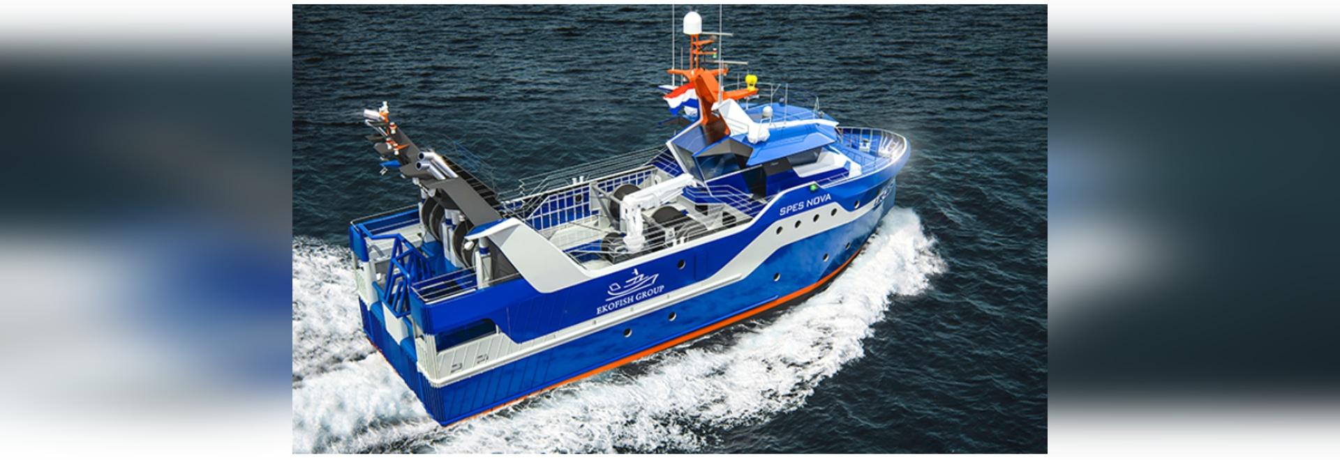 I fornitori di nuovo peschereccio diesel-elettrico di Ekofish hanno annunciato