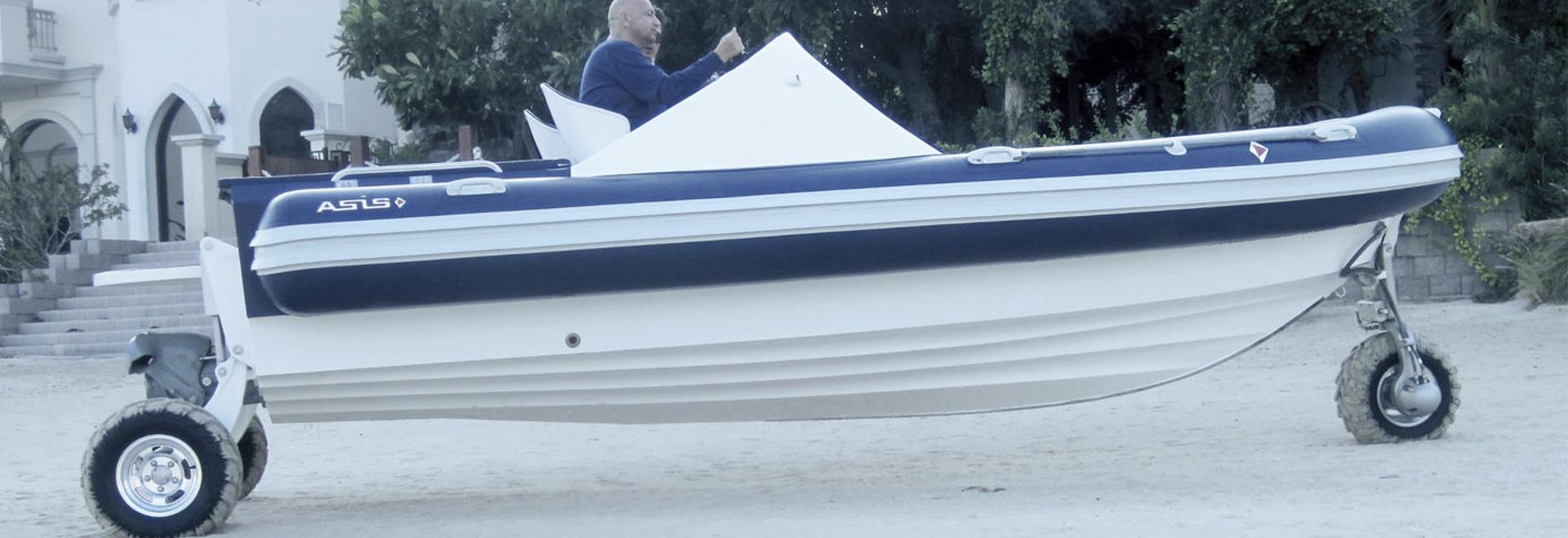 Gamma anfibia da Asis Boats