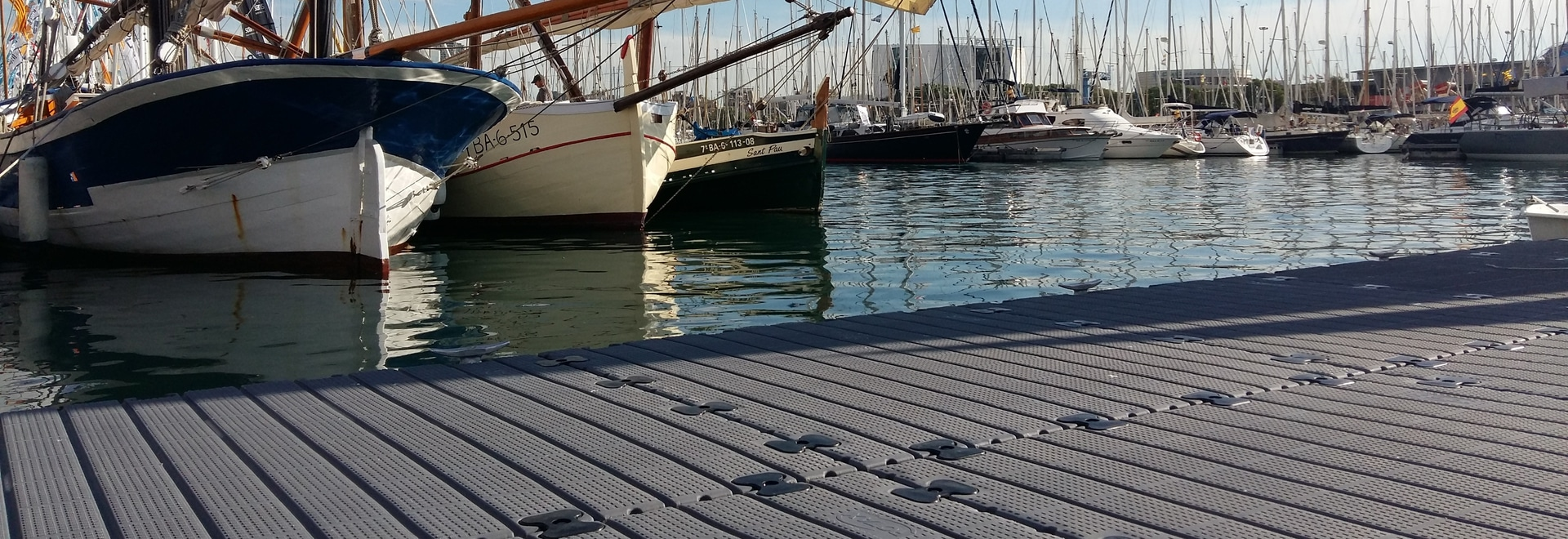 modulaires dei pontons