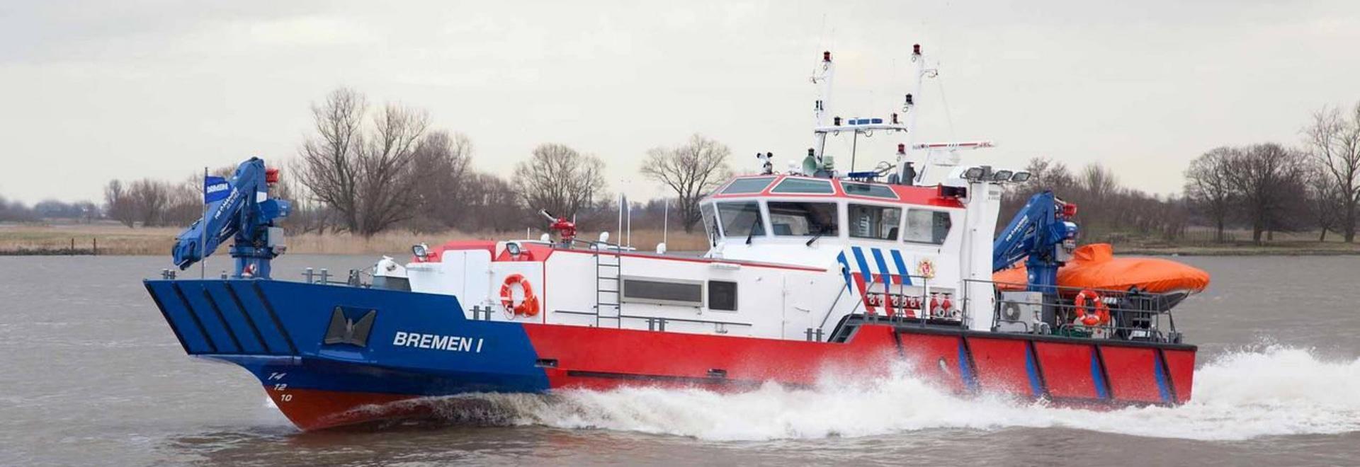 NUOVO: fireboat da Damen