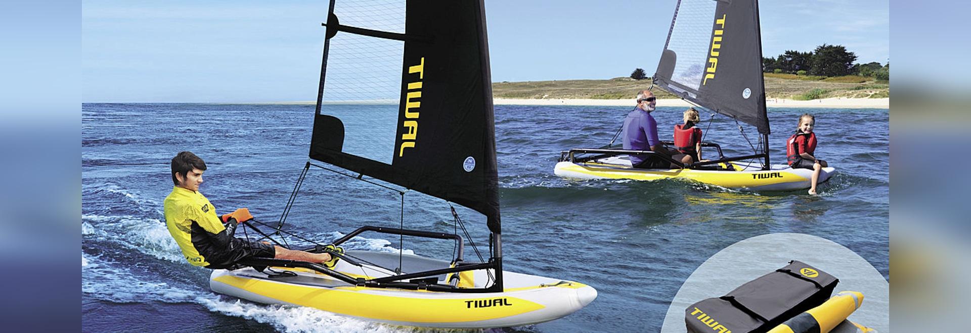 TIWAL 3.2, primo battello pneumatico gonfiabile di navigazione di rendimento elevato