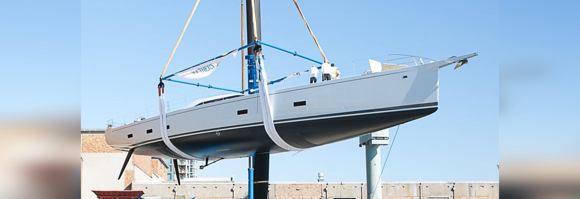 Il vento del sud lancia un potere di navigazione dell'yacht di 35m di 2