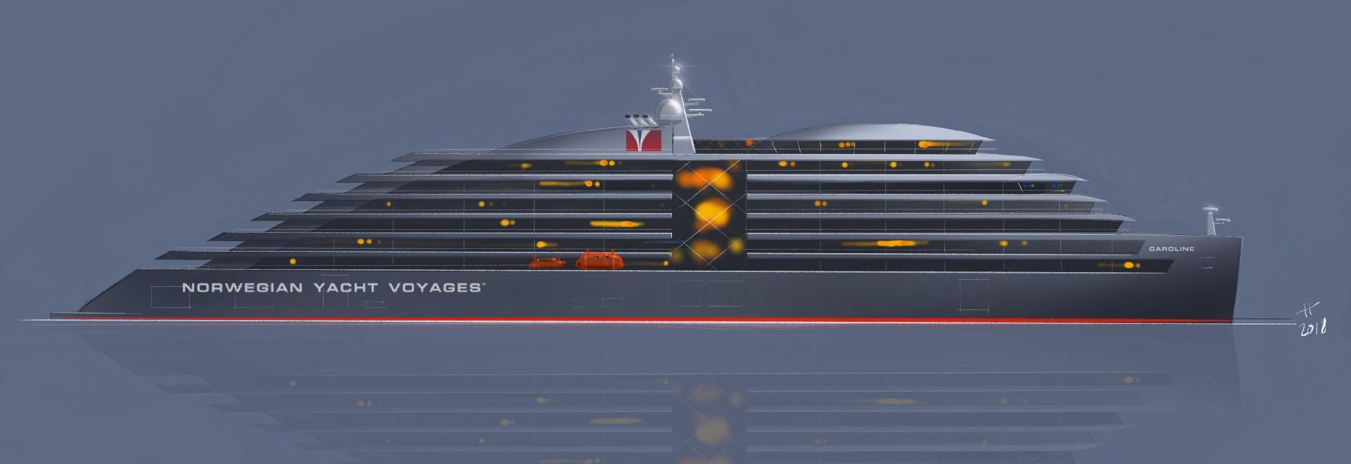 Viaggi norvegesi dell'yacht