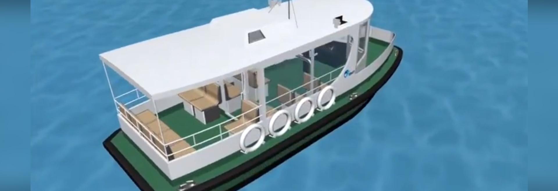 VIDEO: BMT elabora le nuove progettazioni del taxi dell'acqua per Hong Kong