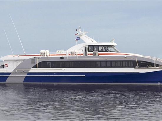 DAMEN digiunano Ferry® 3609 - vaso di passeggero veloce