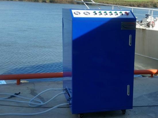 Trattamento delle acque del Careenage WT001