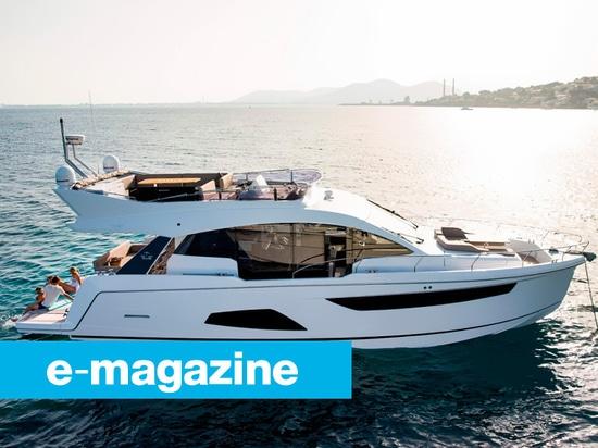 Sealine F530: L'yacht come salotto