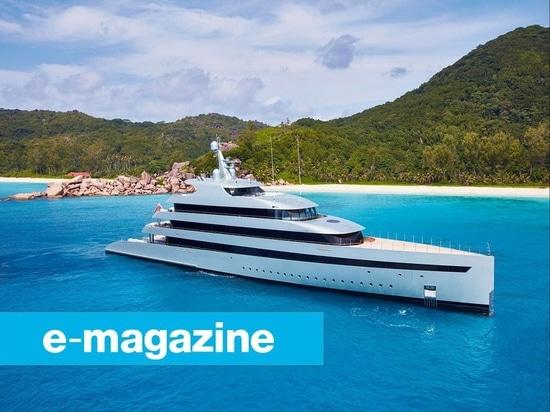 Superyachts ibrido: Un ronzio sostenibile?